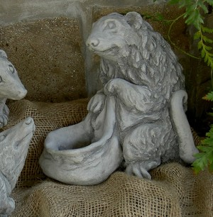 Possum Planter Garden Sculpture