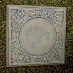 Square Cloud Garden Stepping Stone