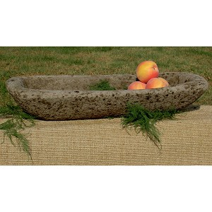 Low Oval English Garden Trough Planter