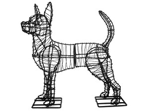Chihuahua Dog Garden Topiary Frame