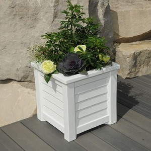 Lakeland 20 Inch Square Planter