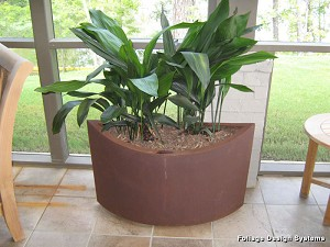 Recycled Ellipse Metal Eco Friendly Planter