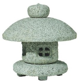 Table Top Granite Japanese Snow Lantern