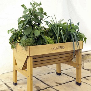 VegTrug Small Wooden Frame Elevated Garden