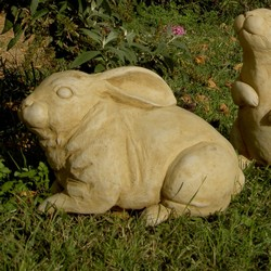 Avery Bunny Rabbit Garden Sculpture