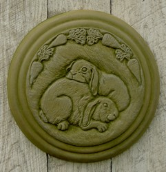Bunny Stepping Stone or Plaque
