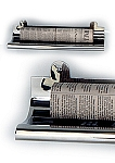 Ecco Fuoriserie NS Stainless Steel Newspaper Shelf