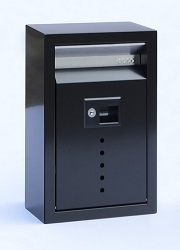 Ecco Fuoriserie E9 Small Galvanized Steel Locking Mailbox
