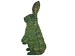Sitting Rabbit Topiary Garden Frame