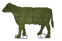 Cow Garden Topiary Frame