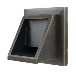 Short Square Scupper Without Backplate