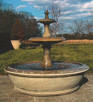 Two Tier Andrews Fountain
