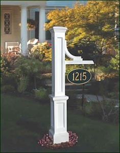 Woodhaven Sign Post